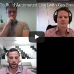 Guy Freeman on automated lead generation